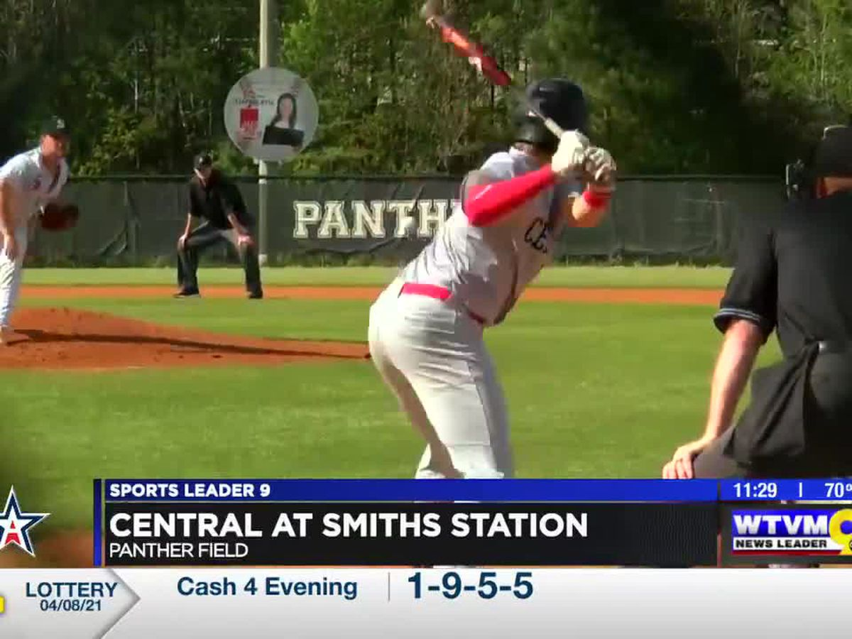 Central powers past Smiths Station to clinch series
