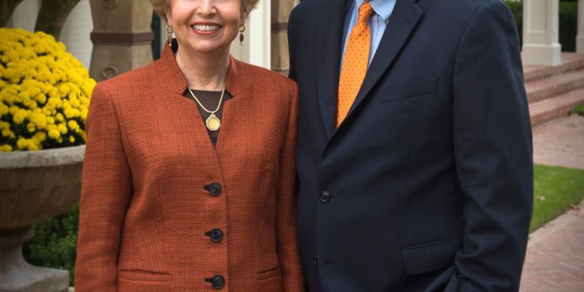 Auburn University's president and wife to be honored at May reception