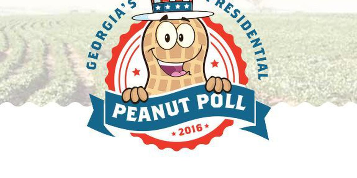Dr. Ben Carson wins Inaugural Presidential Peanut Poll at the GA National Fair