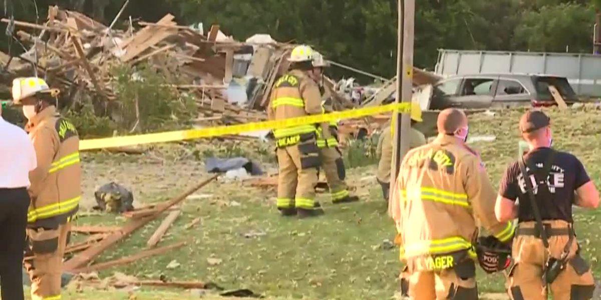 Girl dead, 3 family members hurt in Oklahoma house explosion