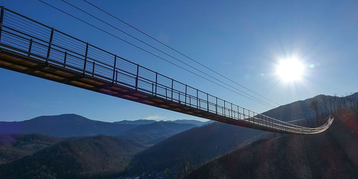 80-year-old woman to overcome fear of heights on Gatlinburg SkyBridge