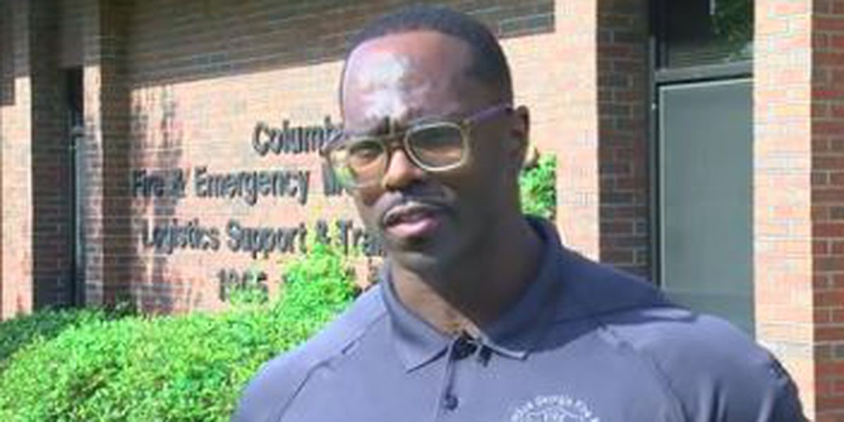 Columbus Fire & EMS names Firefighter of the Year