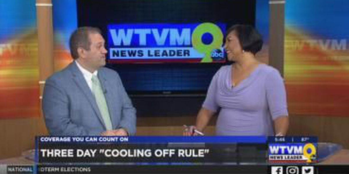 GUEST SEGMENT: BBB explains 3-day 'cooling off' period to return purchases from salesmen
