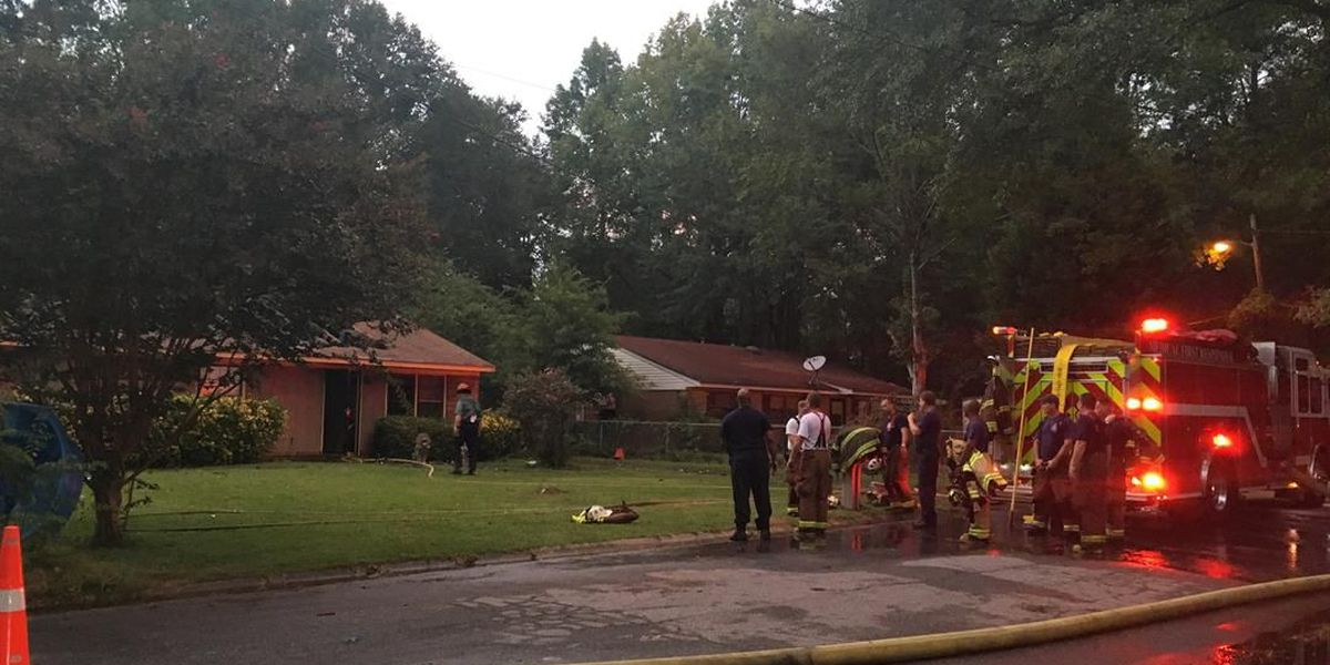 Columbus fire crews respond to house fire on Orchard Dr.