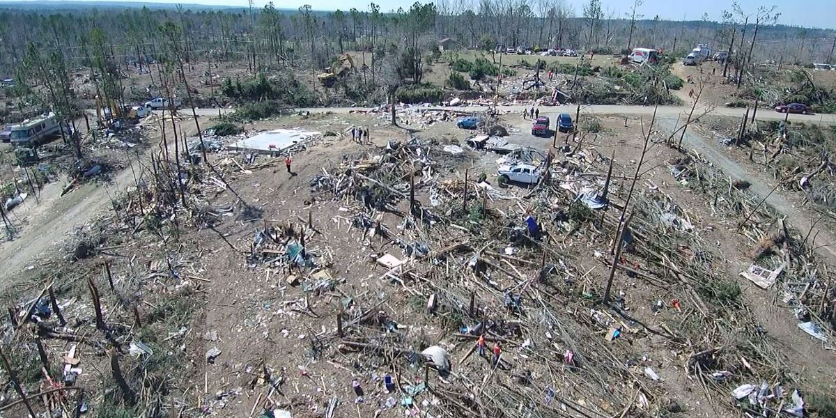 Study shows Alabama tornadoes are the deadliest in the U.S.