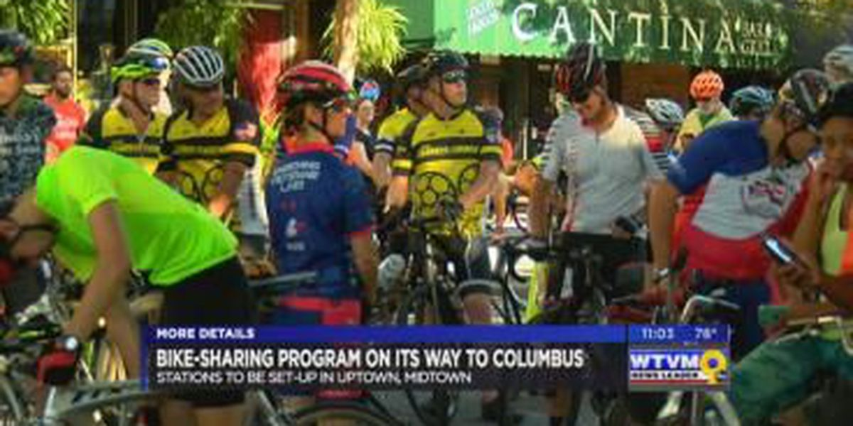 Columbus bike-share program unveiled; first drop off stations named