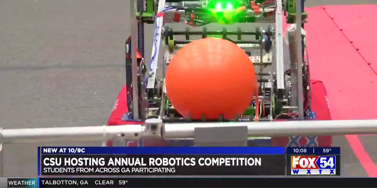 Columbus State University hosts statewide robotics competition