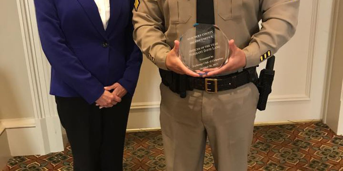 Muscogee County Sheriff's Office Deputy of the Year has been announced