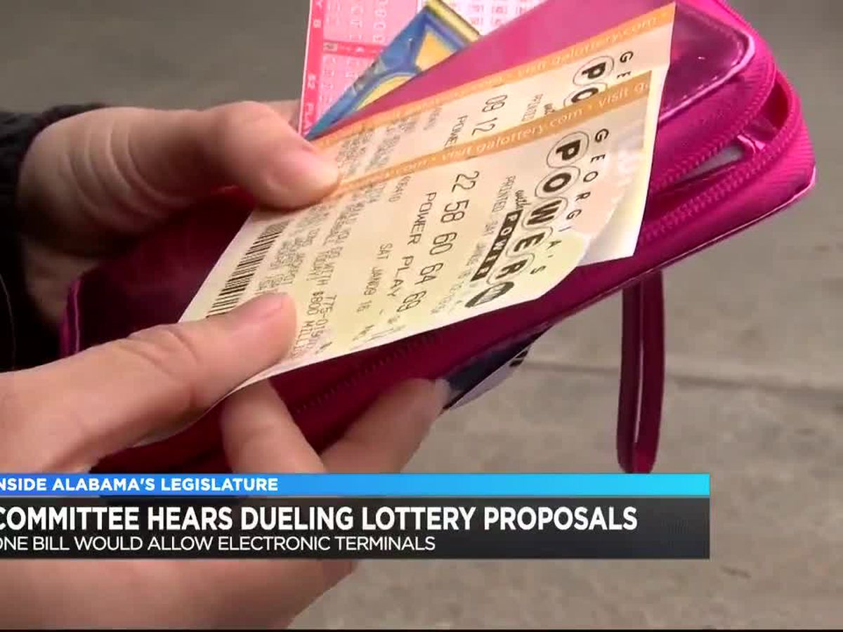 Could we see a lottery proposal to help fund prisons?