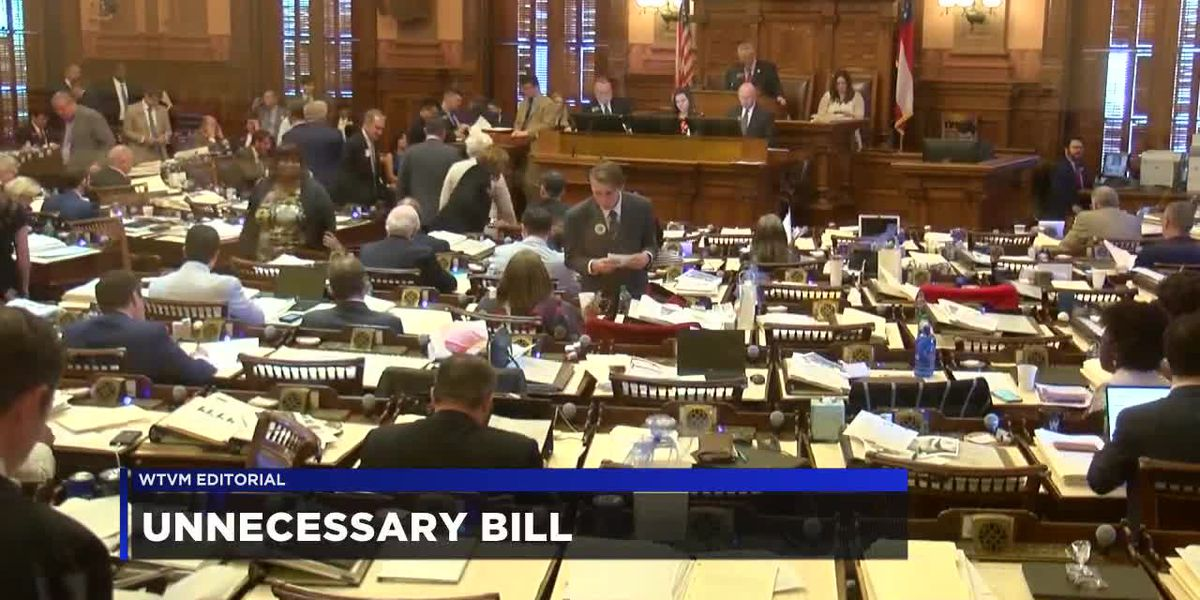 WTVM Editorial 4-11-19: Unnecessary bill