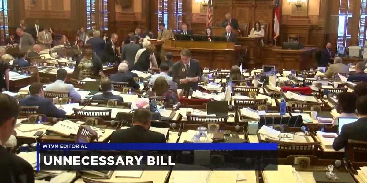 WTVM Editorial 4-11-19: Unnecessary bill