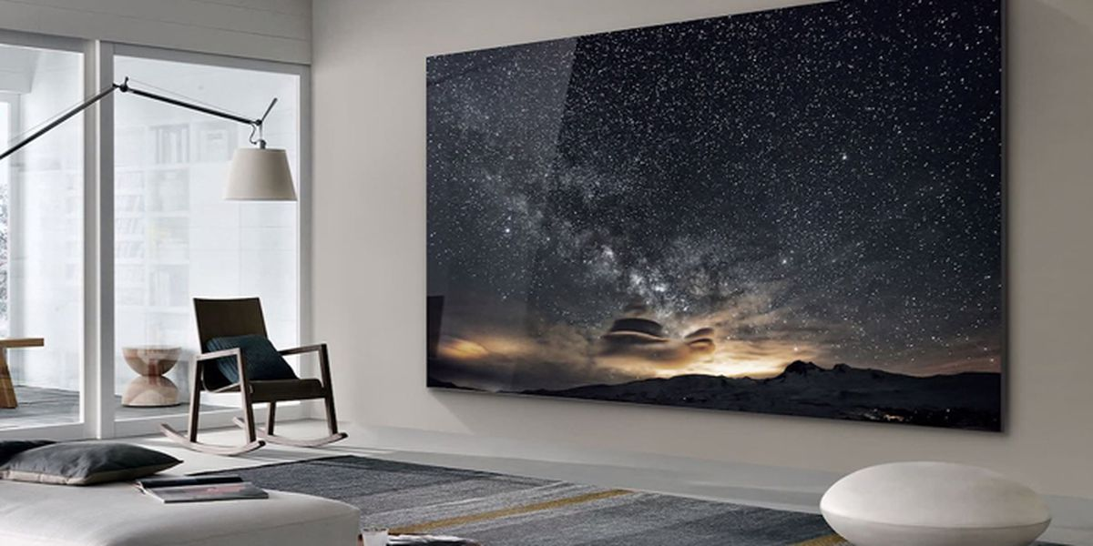 Samsung goes big with 219-inch TV at CES