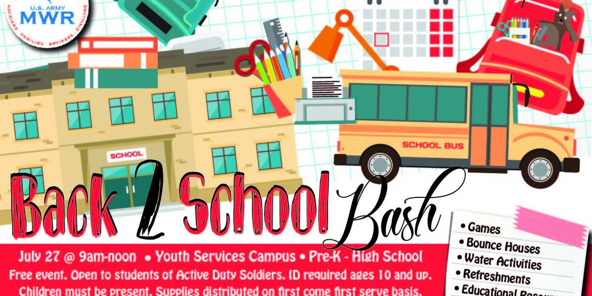 Fort Benning Family and MWR helping active duty families by giving school supplies