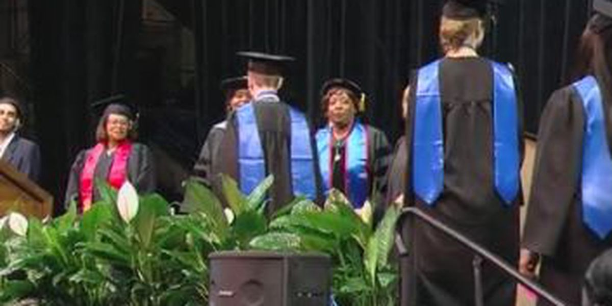 Over 500 graduates cross the stage at Columbus Tech's bi-annual commencement ceremony