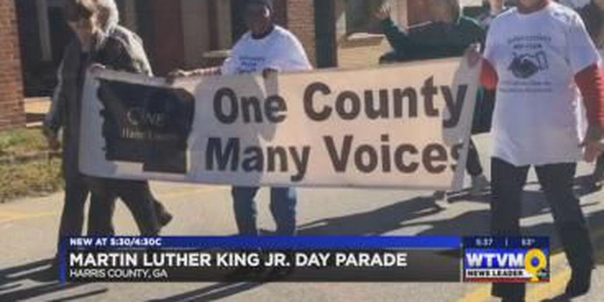 Harris County Men's Club holds annual MLK Parade