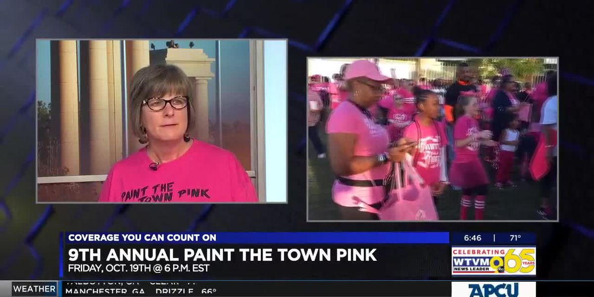 GUEST SEGMENT: 9th annual Paint the Town Pink