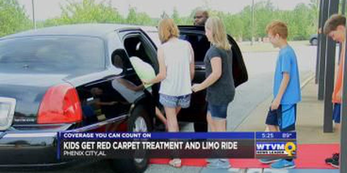 Phenix City students rewarded with 'red carpet treatment' for being top readers