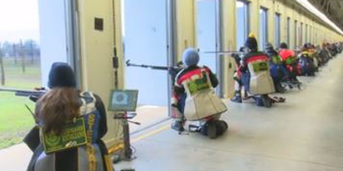 Over 300 athletes competing in Junior Rifle Competition at Ft. Benning