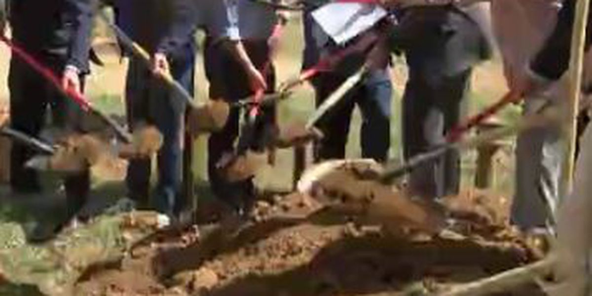 Groundbreaking celebration held for new elderly housing community in Columbus