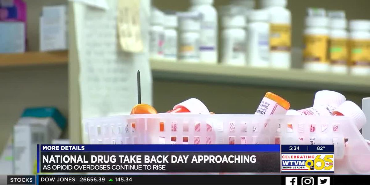 Health officials advise how to dispose of prescription meds ahead of National Drug Take Back Day
