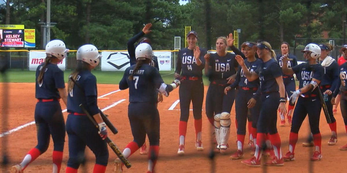 Team USA wins gold at Softball International Cup in Columbus