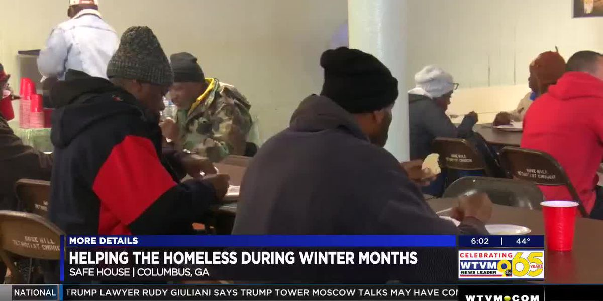 Columbus safehouse offers hot food and shelter ahead of cold temperatures