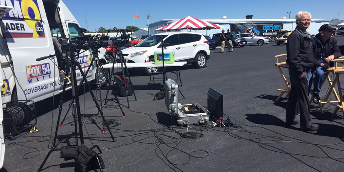 News Leader 9 live pre-coverage for Thunder in the Valley Air Show