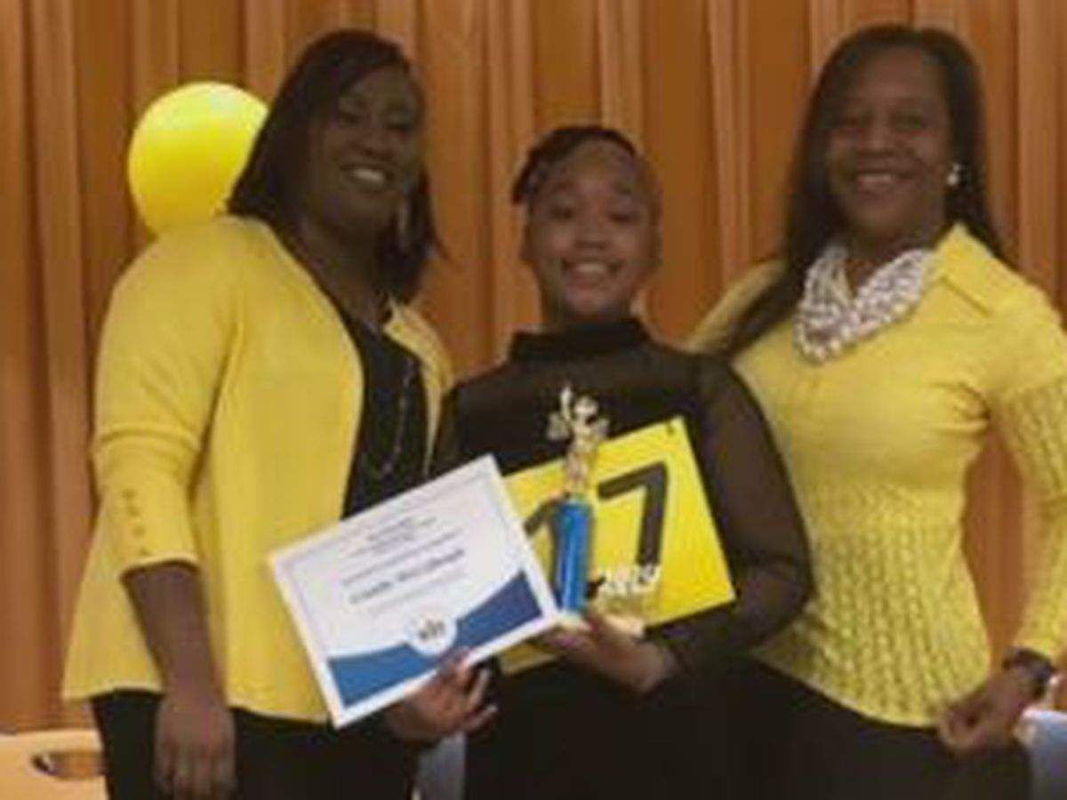 Wesley Heights Elementary School in Columbus names spelling bee winner