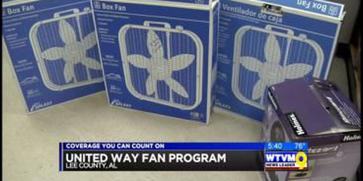 United Way of Lee Co. starts summer fan program