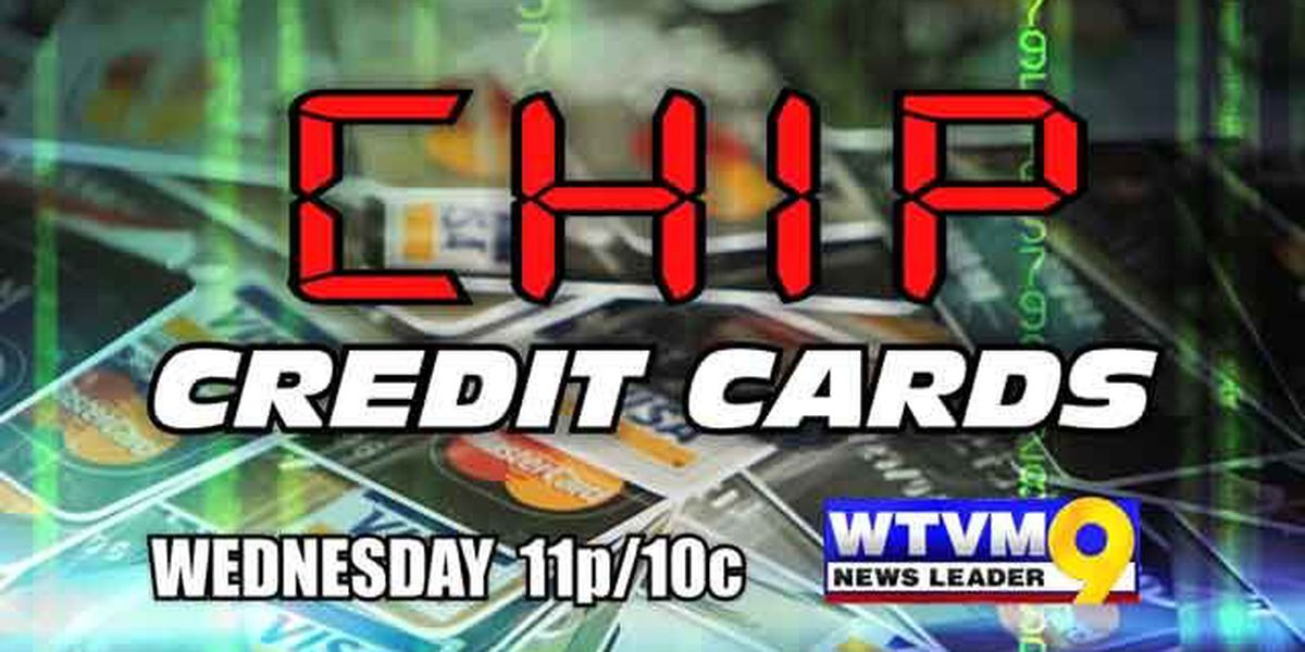 WTVM Special Report: Chip Credit Cards