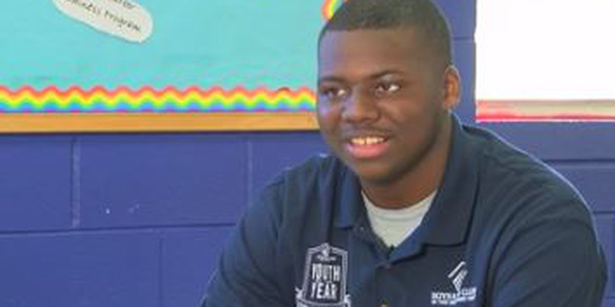 Boys and Girls Club Youth of the Year: Finalist Jacobi Sims