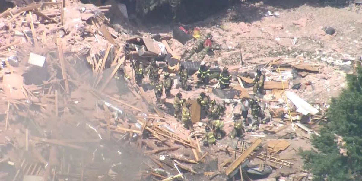 Home explosion in Ballantyne leaves wife dead, husband seriously injured