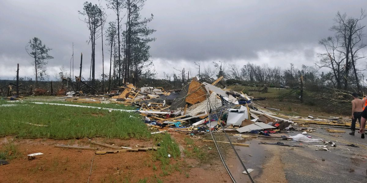 WATCH: Lee County EMA holds press conference with Gov. Ivey following deadly tornadoes
