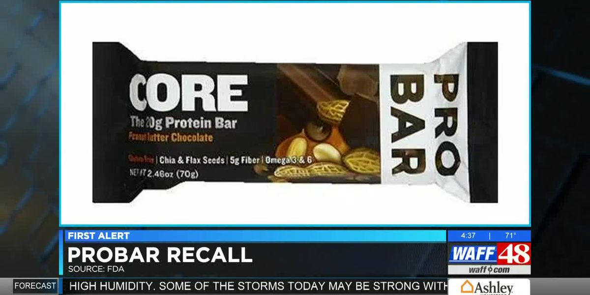 Protein bars sold at Walmart and Target recalled due to possible undeclared allergens