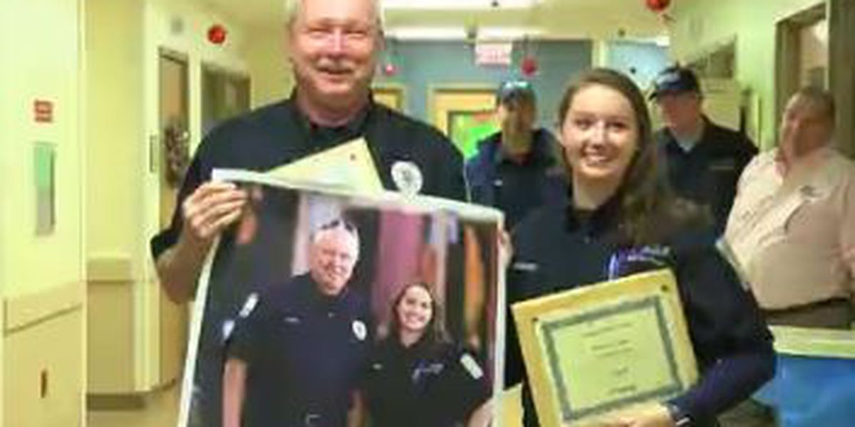 Piedmont Columbus Regional honors 2 first responders for efforts to save 3-year-old