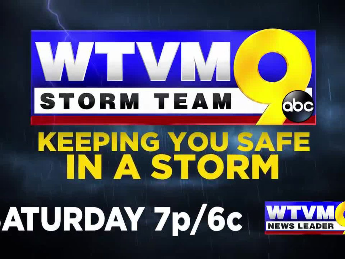 'Keeping You Safe In A Storm' WTVM to air severe weather special focused on your safety