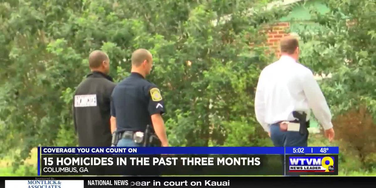 Columbus sees 15 homicides in 3 months
