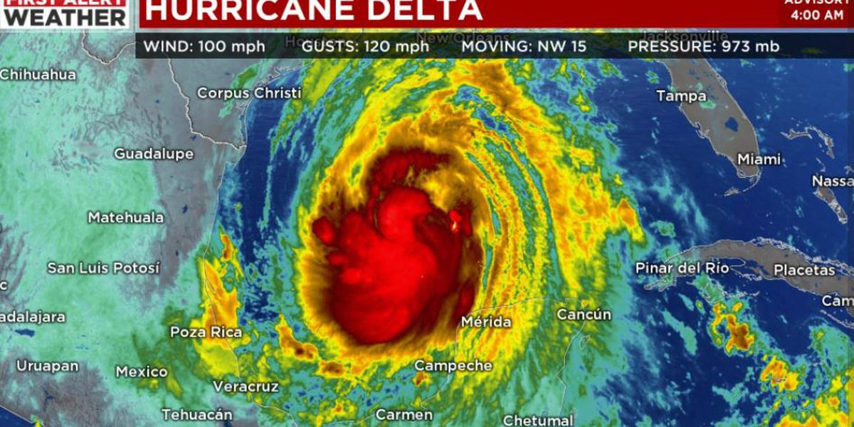 UPDATE: Gov. Ivey rescinds evacuation provision ahead of Hurricane Delta