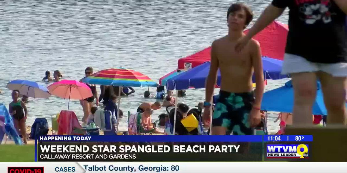 Callaway Gardens hosting Star Spangled Beach Weekend celebrating Fourth of July