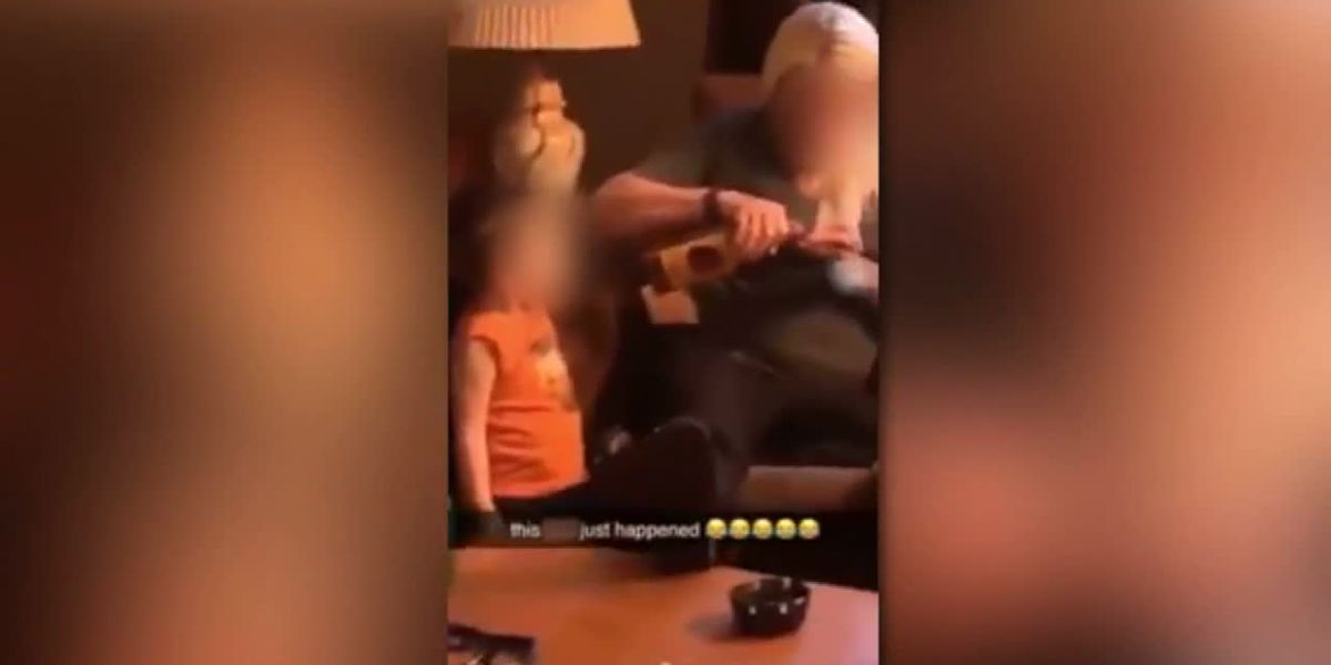 Okla. toddler allegedly given alcohol in Snapchat video