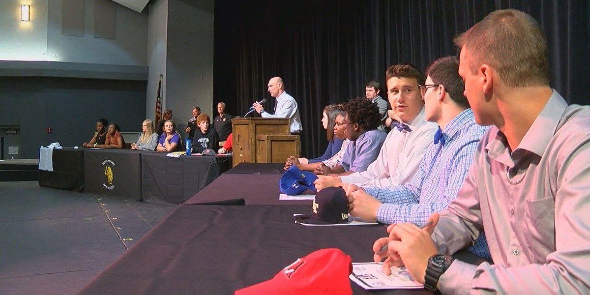 Wednesday high school signings