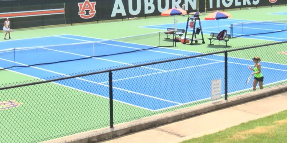 Qualifying round for 2017 Auburn Women's Pro Tennis Classic held