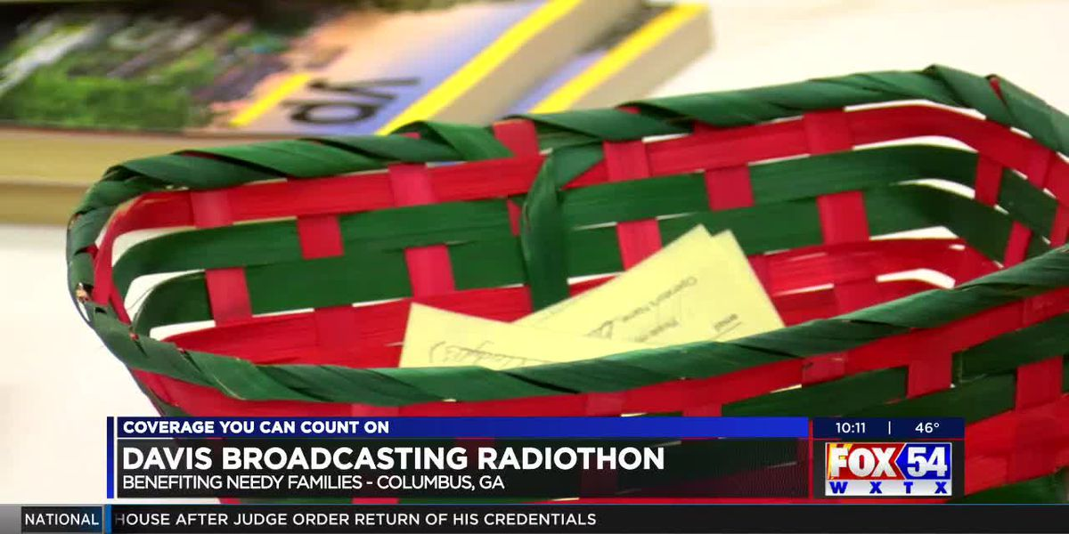 24-hour radiothon underway at Davis Broadcasting in Columbus
