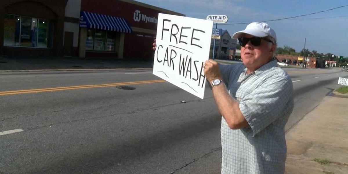 Local non-profit offers free Labor Day car wash