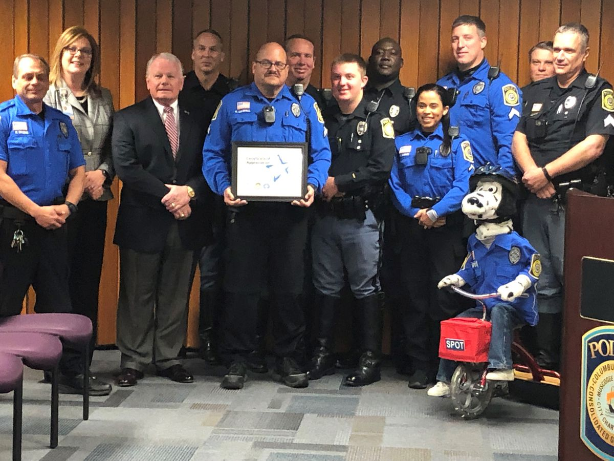 Safe Kids Columbus celebrates 20-year partnership with the Columbus Police Dept.