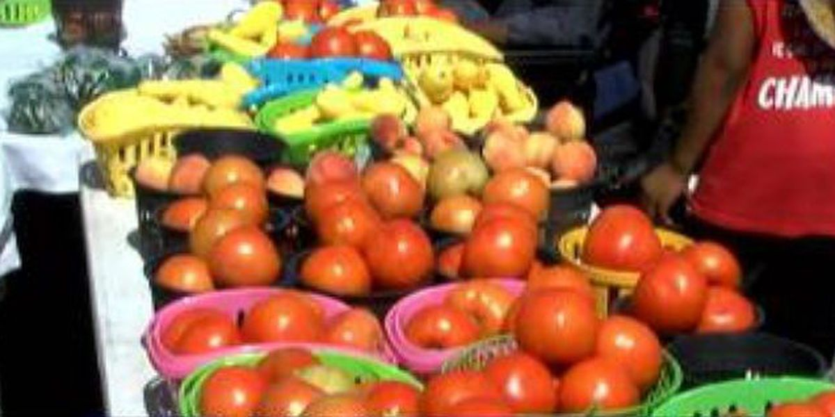 Phenix City Farmers' Market opens on National Veggie Day