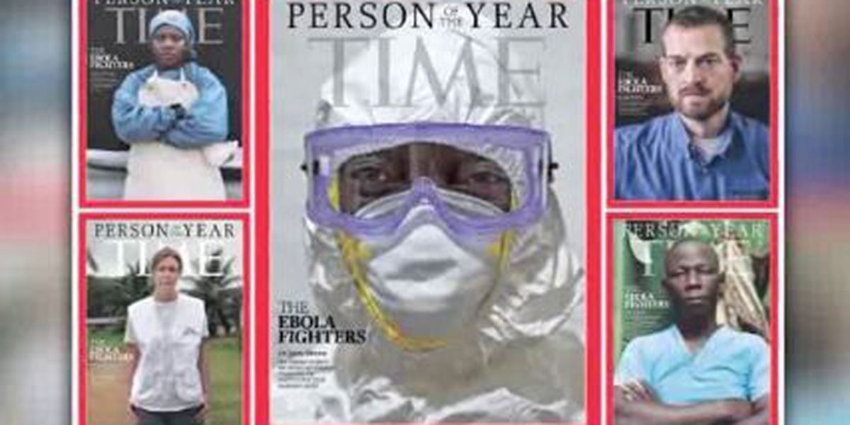 'Time' names Ebola fighters as 2014 Person of the Year