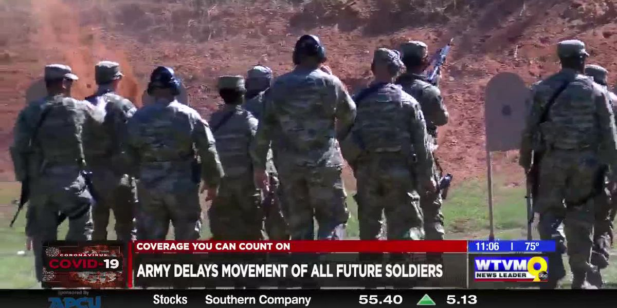 Army delays movement of all future soldiers