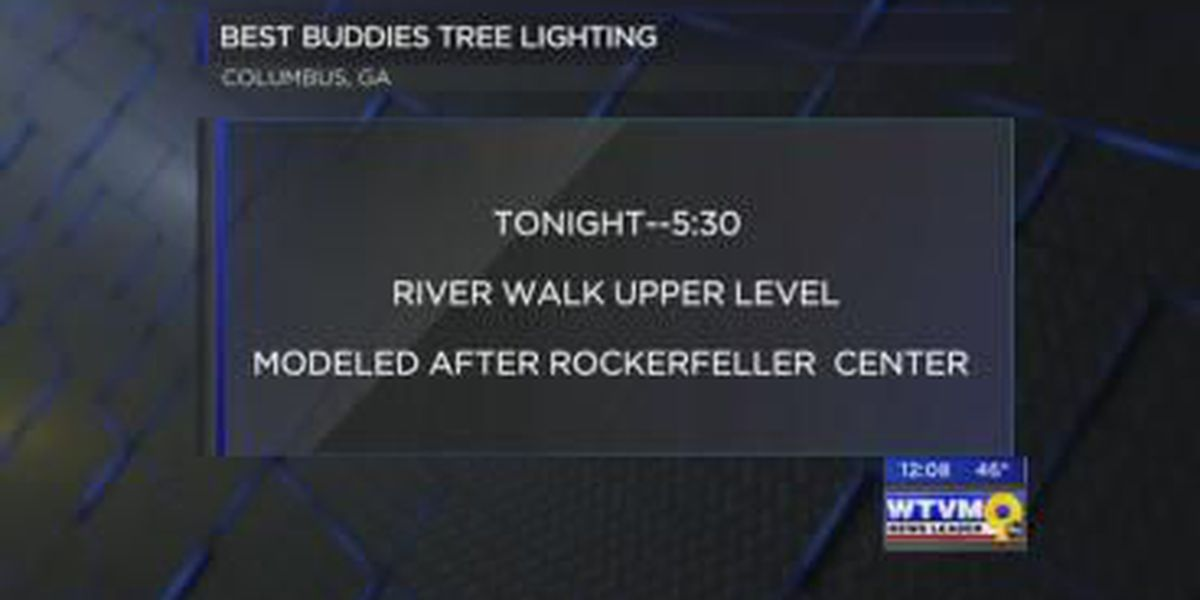 Best Buddies organization to host tree lighting ceremony