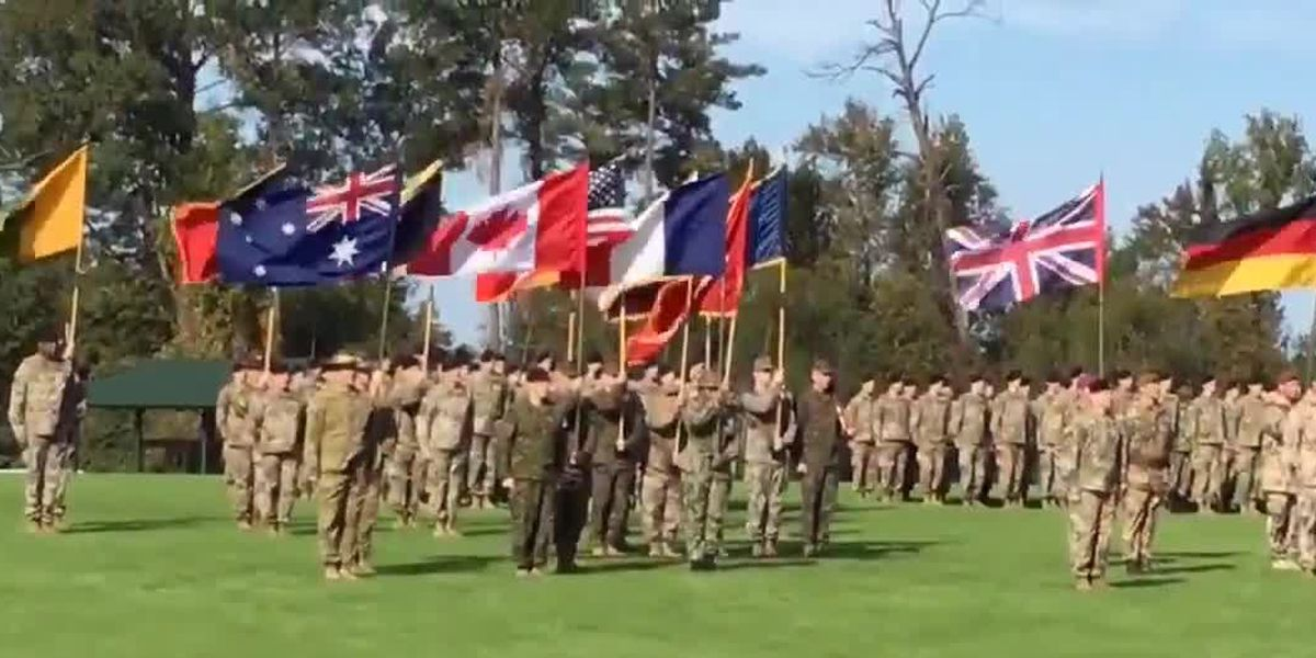 National Infantry Museum hosts a service of remembrance commemorating end of WWI